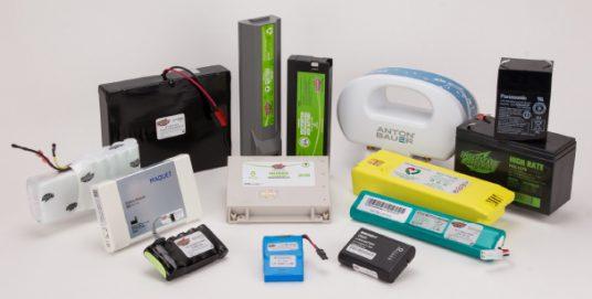 Batteries For medical equipment